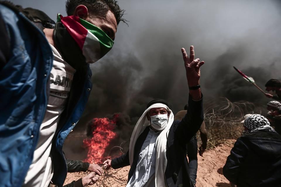 الوضع في غزة