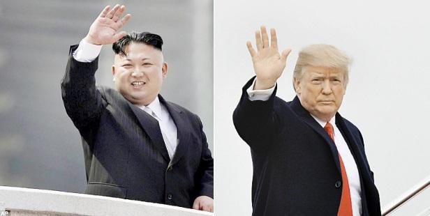 ترامب وكيم جونج أون