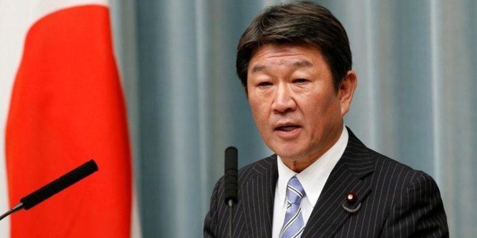 وزير الاقتصاد الياباني توشيميتسو موتيجي