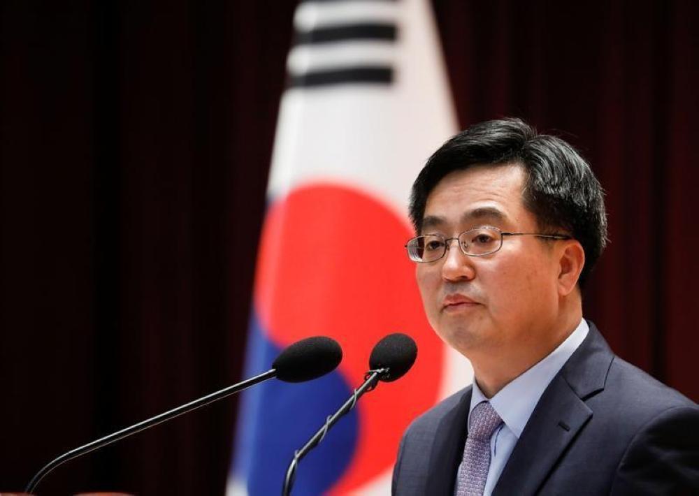 وزير المالية الكوري الجنوبي كيم دونج يون