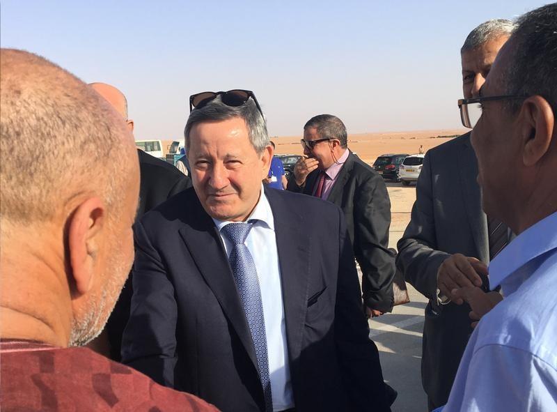عبد المؤمن ولد قدور الرئيس التنفيذي لشركة الطاقة الجزائرية