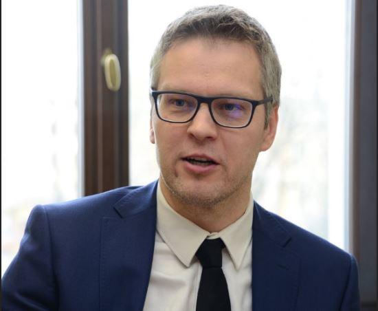 يوريس ستاليميستار مدير دائرة العلاقات الاقتصادية بجمهورية لاتفيا