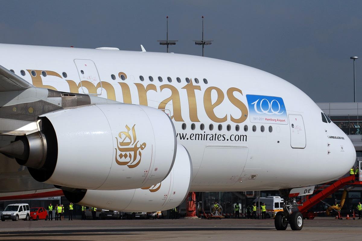 طيران الإمارات تشغل الإيرباص A380 إلى هامبورج