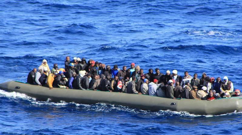 انقاذ مهاجرين