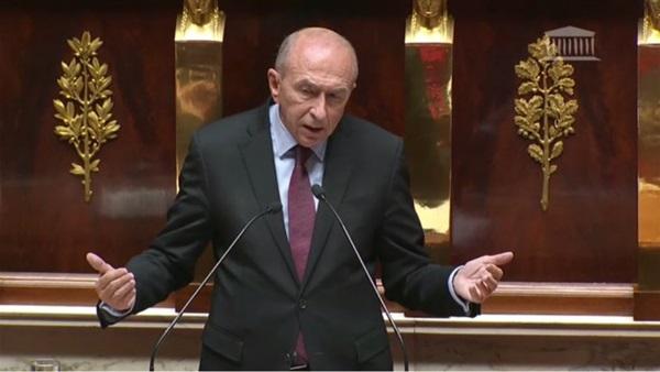 وزير الداخلية الفرنسي جيرار كولومب