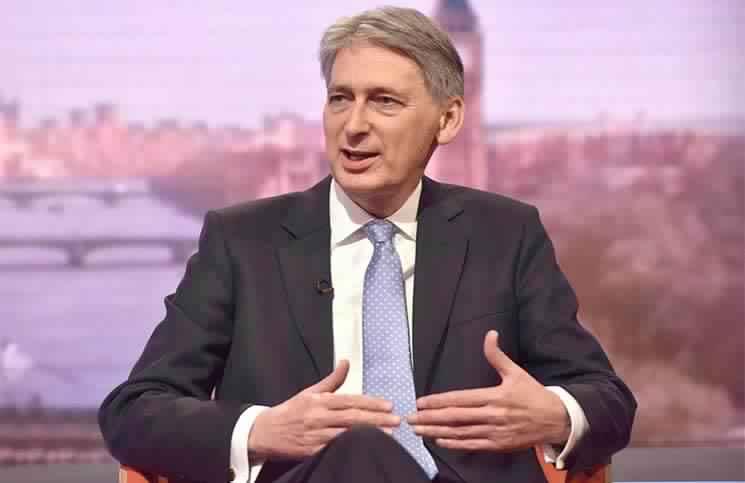 وزير الخزانة البريطانى فيليب هاموند
