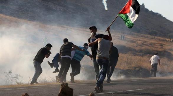 اشتباكات الفلسطينين مع قوات الاحتلال الاسرائيلية