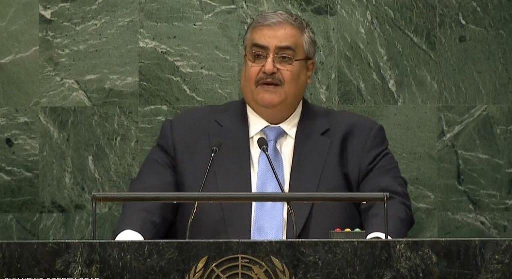 معالي الشيخ خالد بن أحمد بن محمد آل خليفة وزير خارجية مملكة البحرين الشقيقة
