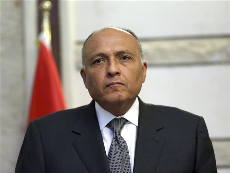 وزير خارجية جمهورية مصر العربية الشقيقية