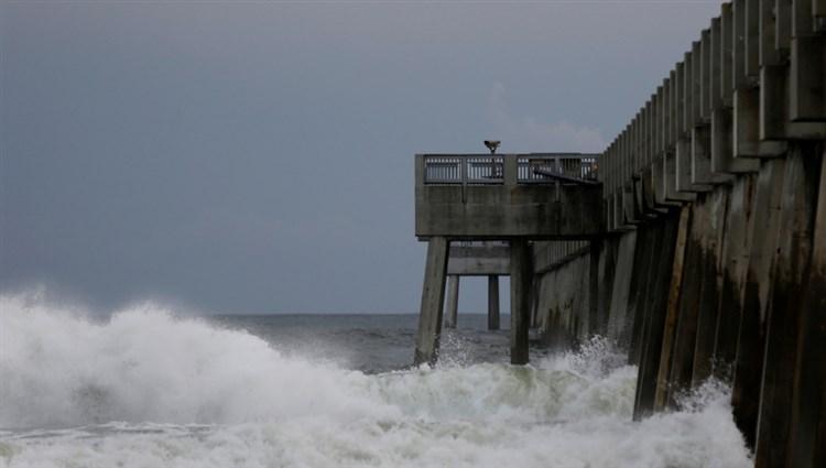 إعصار مايكل يضرب فلوريدا