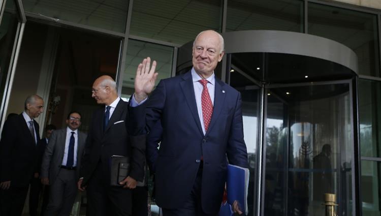 مبعوث الأمم المتحدة الخاص إلى سوريا ستافان دي ميستورا