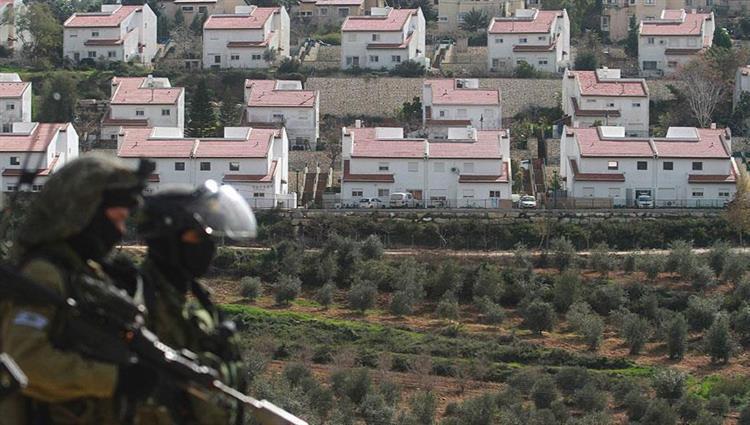 مستوطنات إسرائيلية على الأراضي الفلسطينية