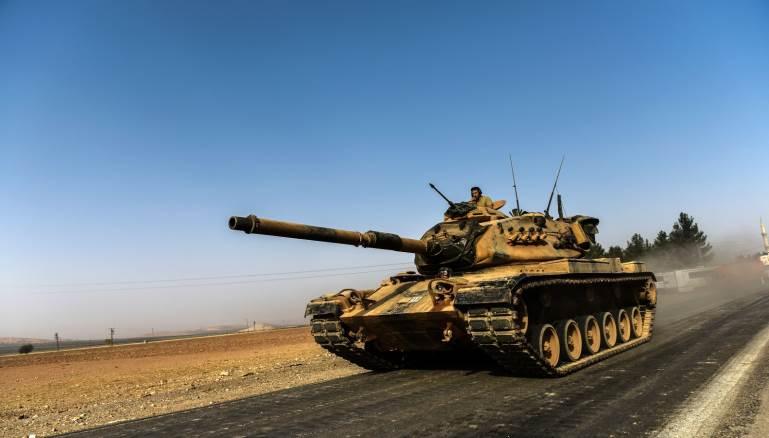 تركيا بدأت عمليات ضد الأكراد شرقي الفرات (ارشيف)