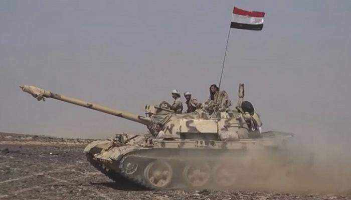 عناصر من قوات الجيش اليمني فى المناطق الحررة