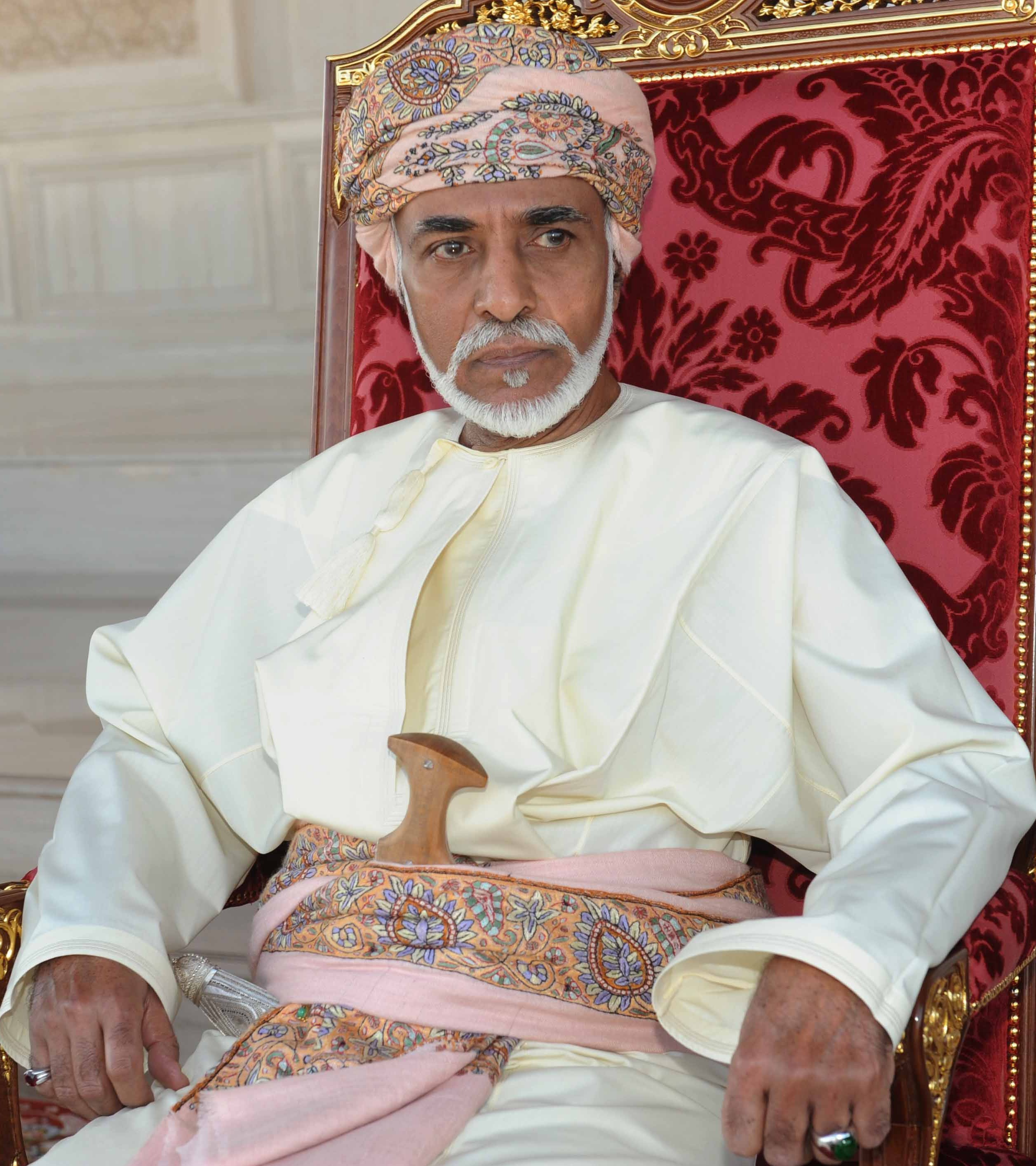 جلالة السلطان قابوس بن سعيد