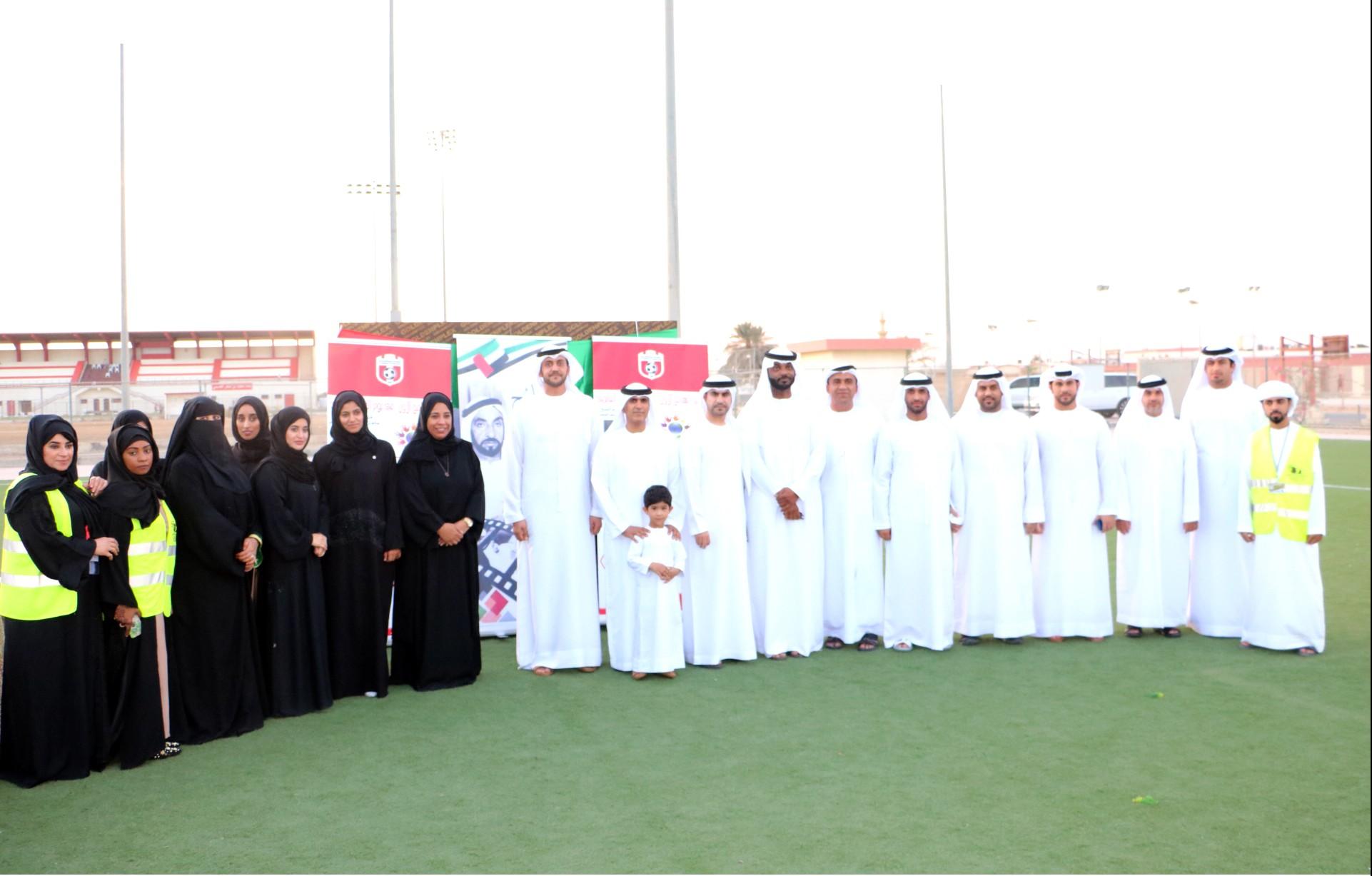 احتفالات نادي الجزيرة الحمراء باليوم العالمي للتسامح