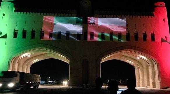 الإمارات تشارك سلطنة عمان احتفالها باليوم الوطني الـ 48