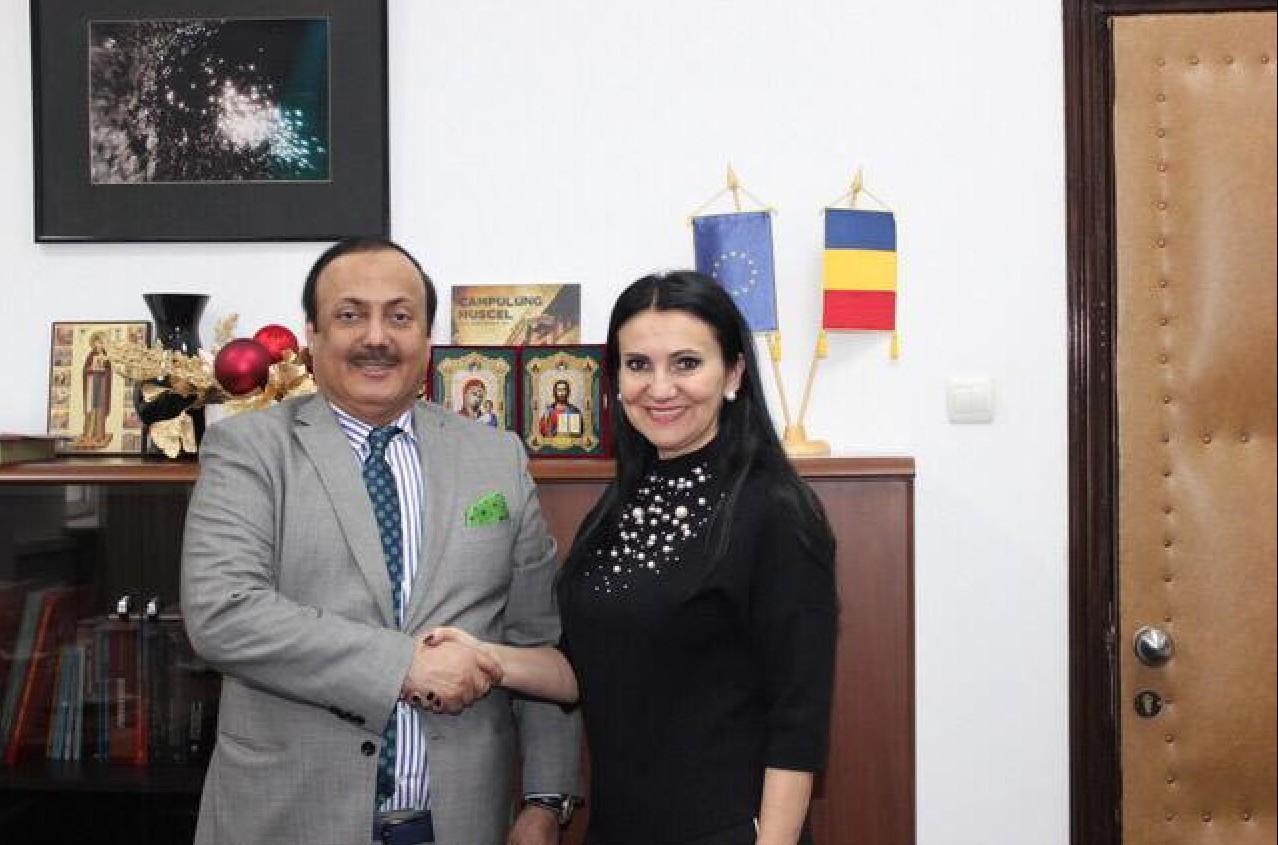 الإمارات ورومانيا تبحثان التعاون في المجال الصحي