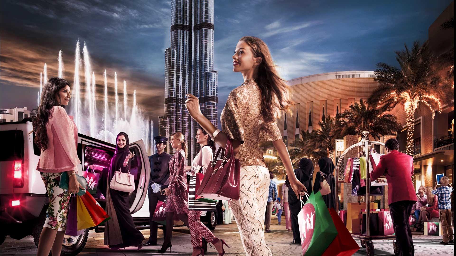 إنطلاق الدورة الرابعة والعشرين من مهرجان دبي للتسوق