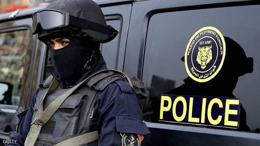 أحد عناصر قوات الآمن المصرية_ صورة أرشيفية