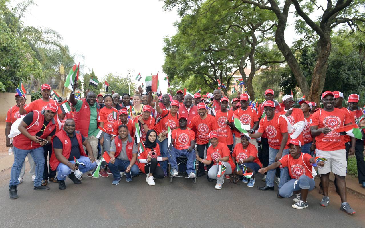 سفارة الدولة لدى جنوب أفريقيا تروج للأولمبياد الخاص في أبوظبي