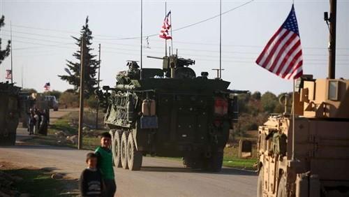معدات تابعة للقوات الأمركية فى سوريا