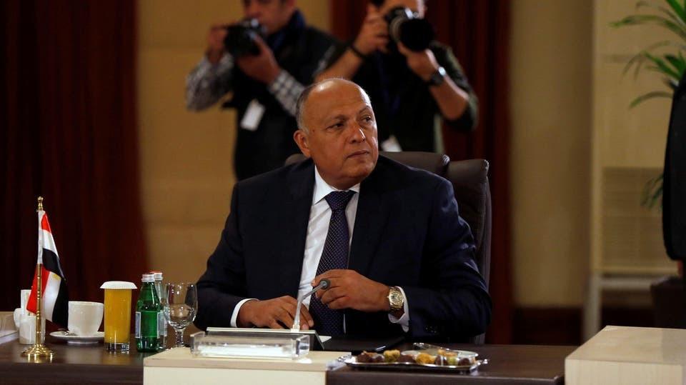 سامح شكري، وزير الخارجية المصري