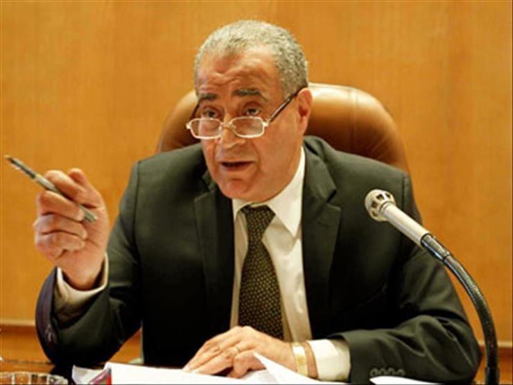 الدكتور علي مصيلحي وزير التموين