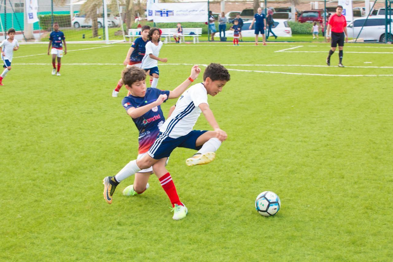 إحدى اللقطات تظهر مهارات اللاعب ياسين