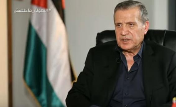 نبيل أبو ردينة وزير الإعلام الفلسطيني