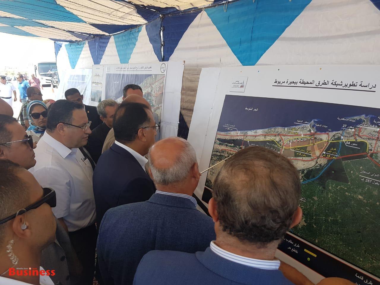 مصطفى مدبولي وشرح لأعمال التطوير