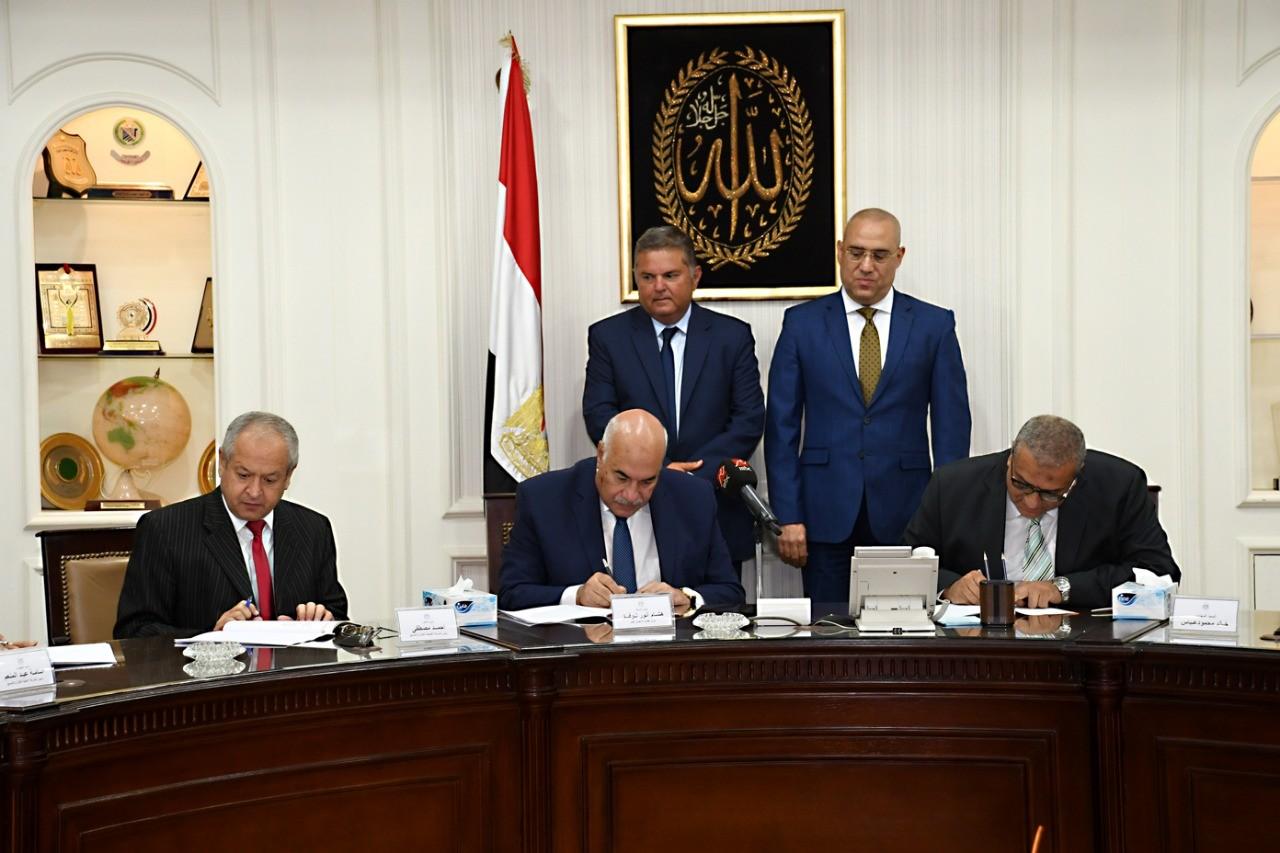 الحكومة المصرية تطور أراضي محور المحمودية