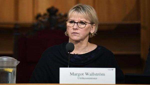 مارجوت فالستروم - وزيرة خارجية السويد