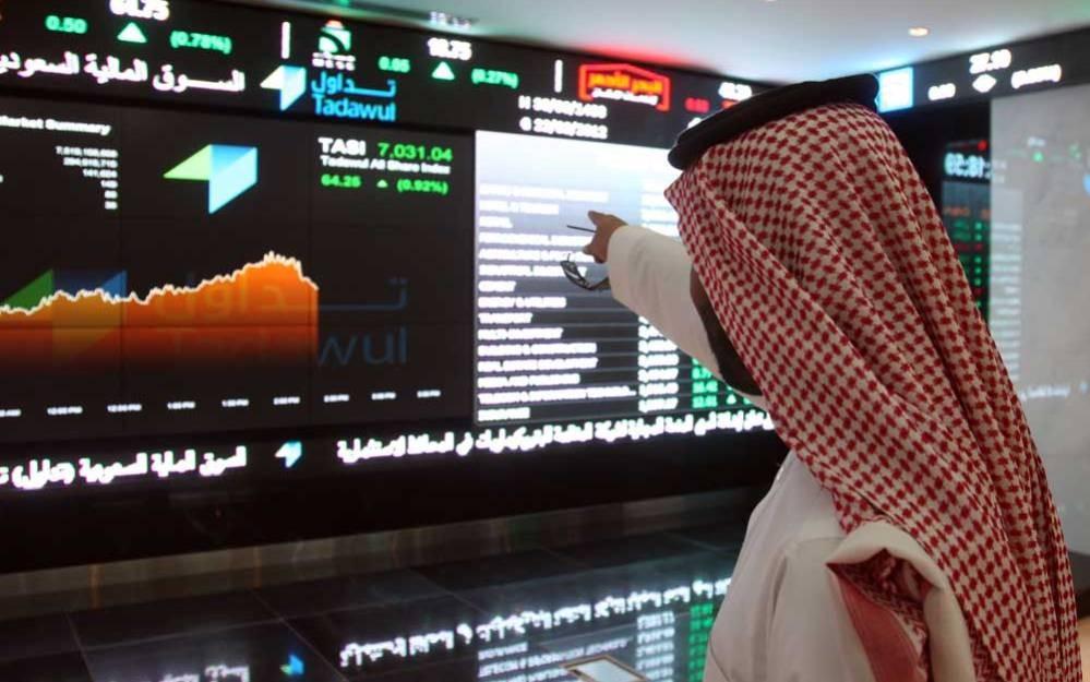 مؤشر بورصة السعودية