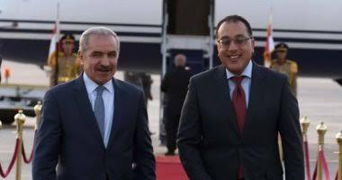 رئيس الوزراء المصري ونظيره الفلسطيني