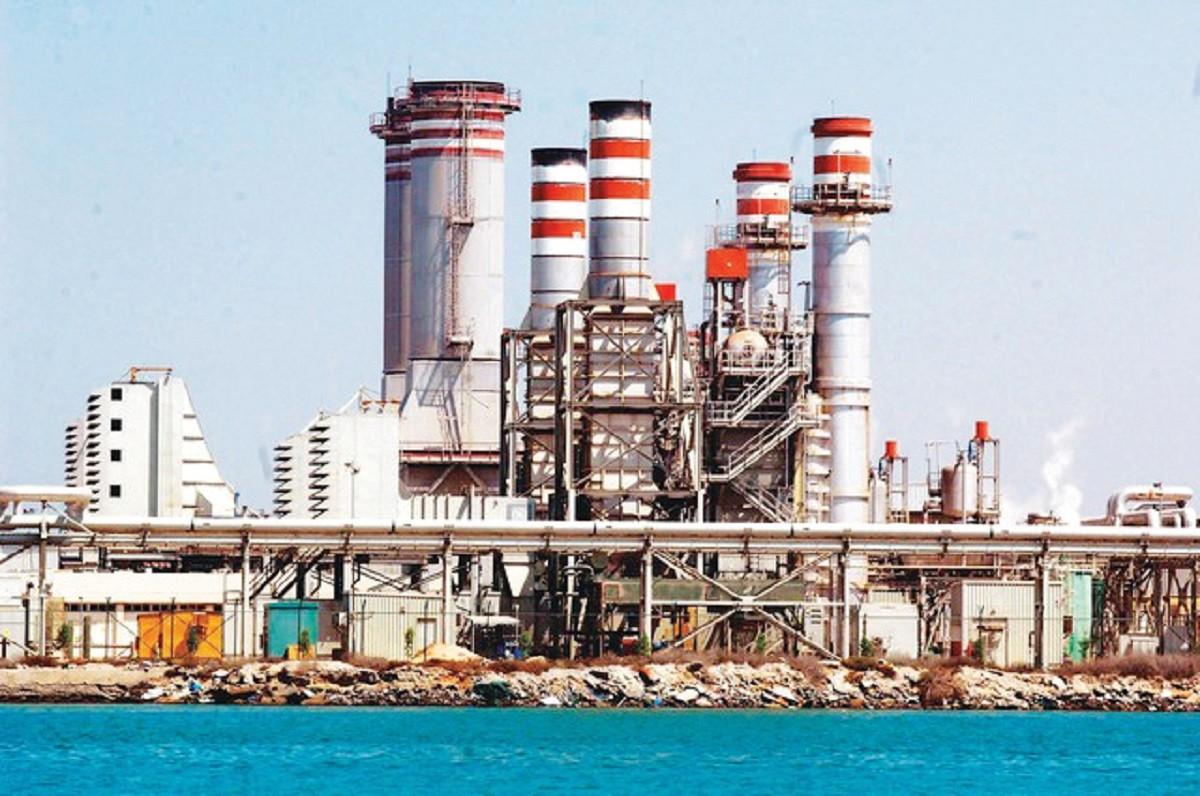 أكبر محطة لتحلية المياه في العالم بأبوظبي