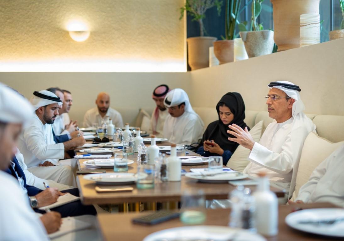 المكتب الإعلامي لحكومة دبي وعبدالرحمن ال صالح