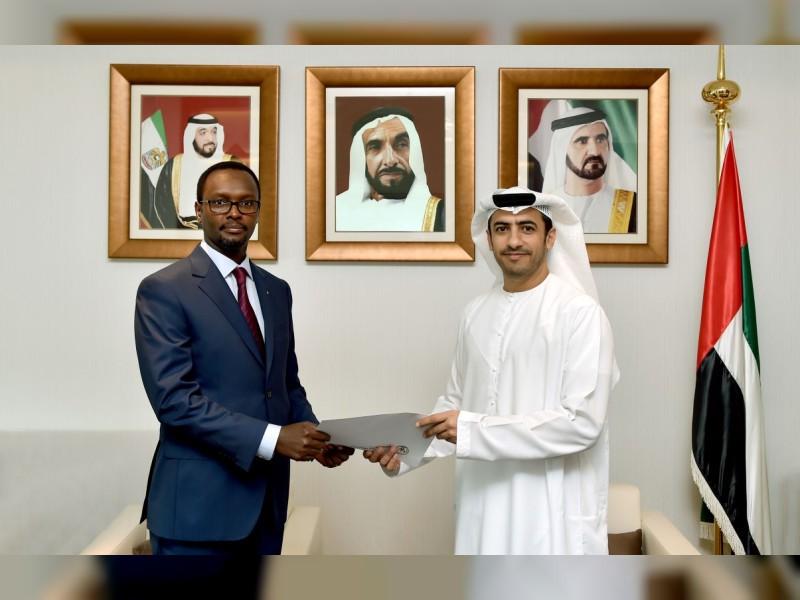 اعتماد سفير رواندا لدى الدولة