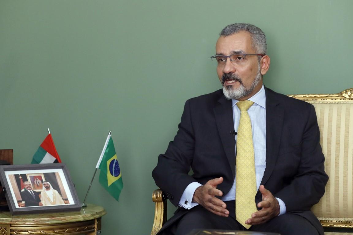 السفير البرازيلي لدى الدولة
