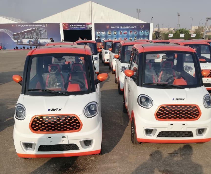 السيارة الكهربائية الجديدة في مصر