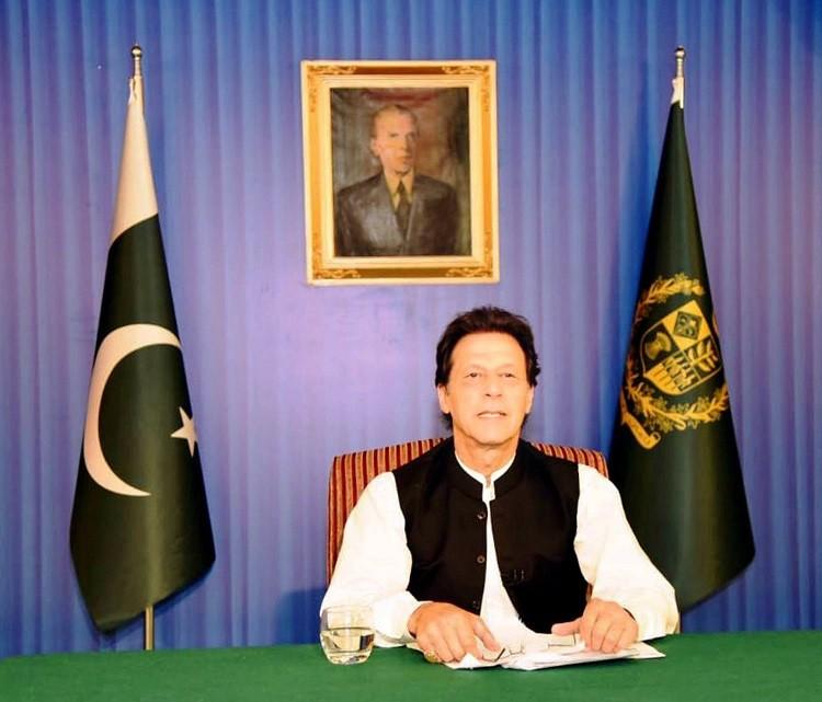 رئيس الوزراء الباكستانى عمران خان