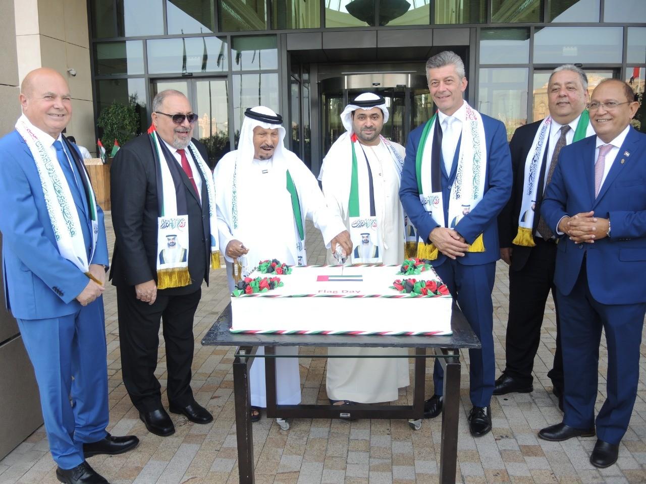 فندق باب القصر يحتفل برفع العلم