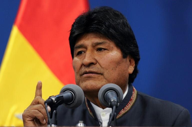 رئيس بوليفيا ايفو موراليس