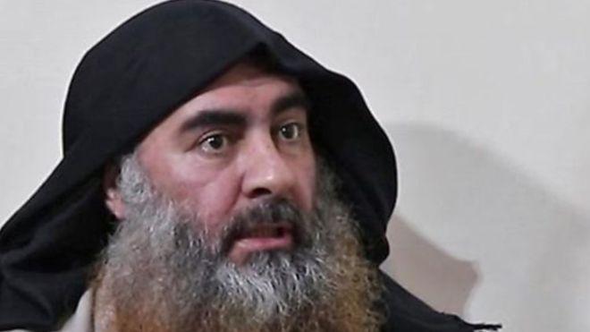 زعيم داعش