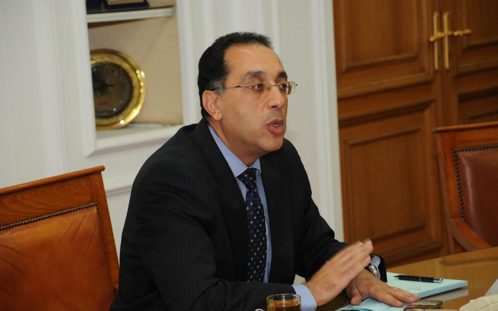 مصطفى مدبولي- رئيس مجلس الوزراء المصري