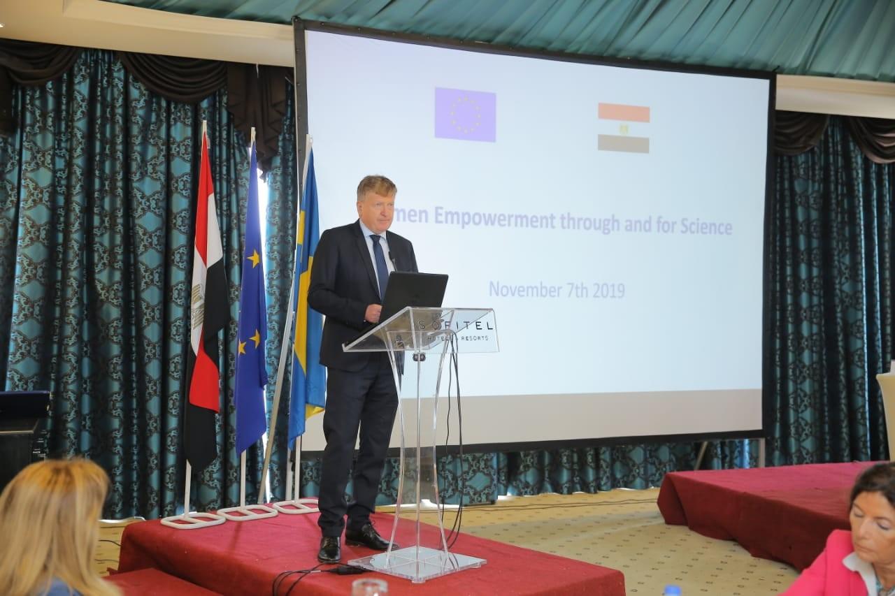 سفير الاتحاد الاوروبي بالقاهرة
