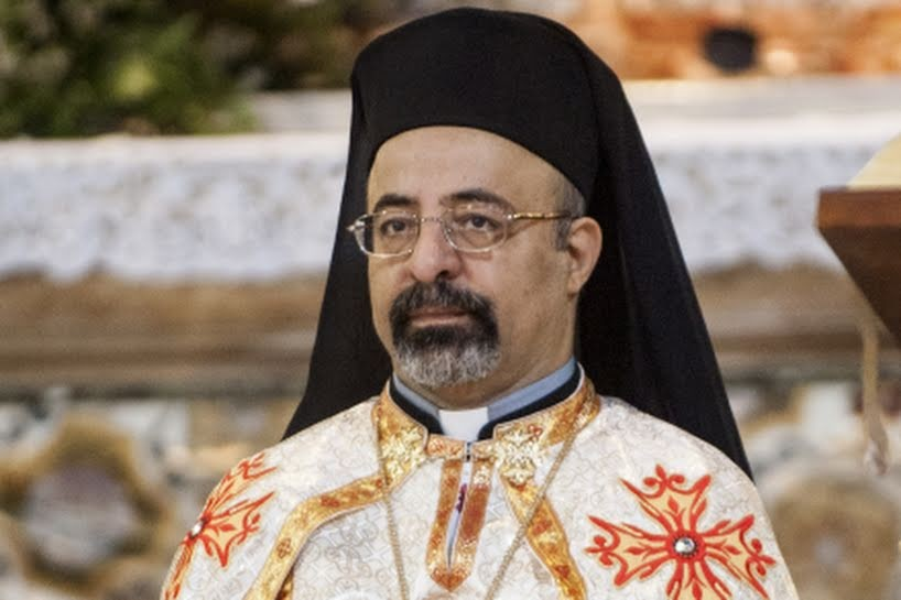 البطريرك الأنبا إبراهيم اسحق