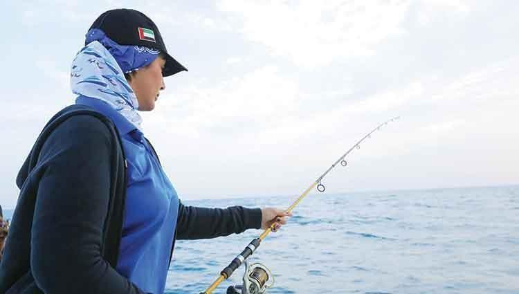 بطولة صيد الأسماك للسيدات