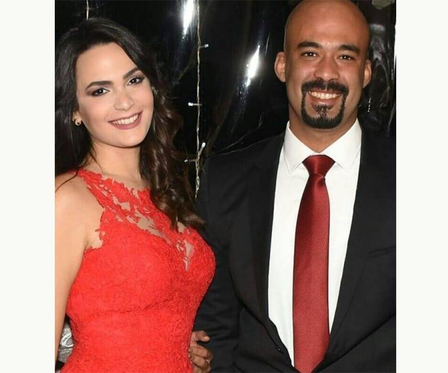 هيثم أحمد زكي وخطيبته