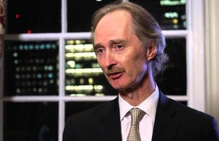جير بيدرسون مبعوث الأمم المتحدة الخاص لسوريا
